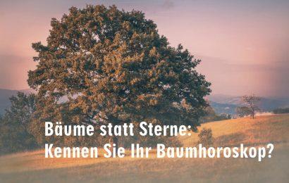 Bäume statt Sterne: Kennen Sie Ihr Baumhoroskop?
