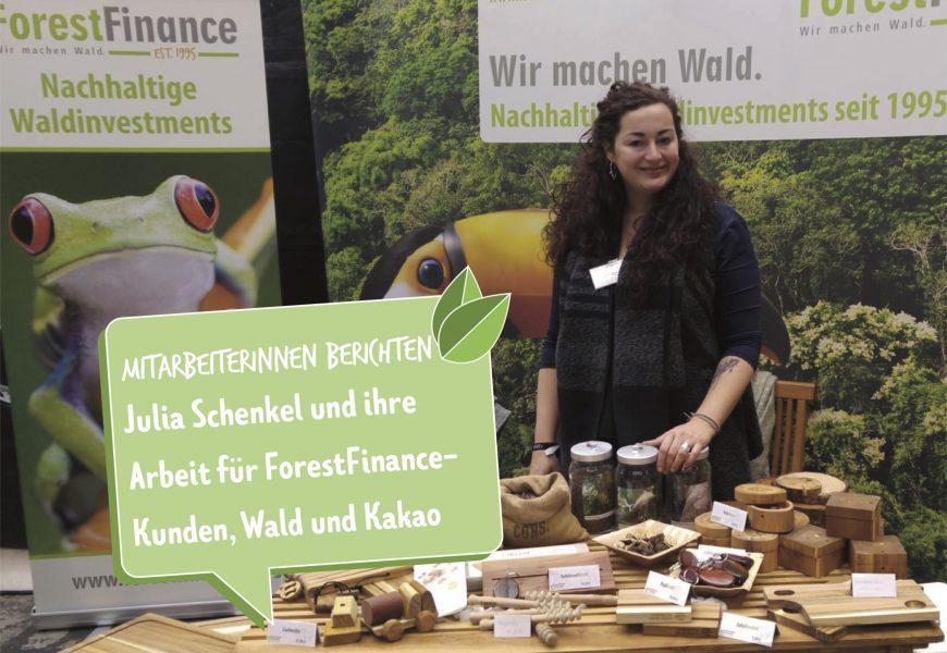 Zeit für Neues – wie Julia Schenkel und ForestFinance  zueinander fanden