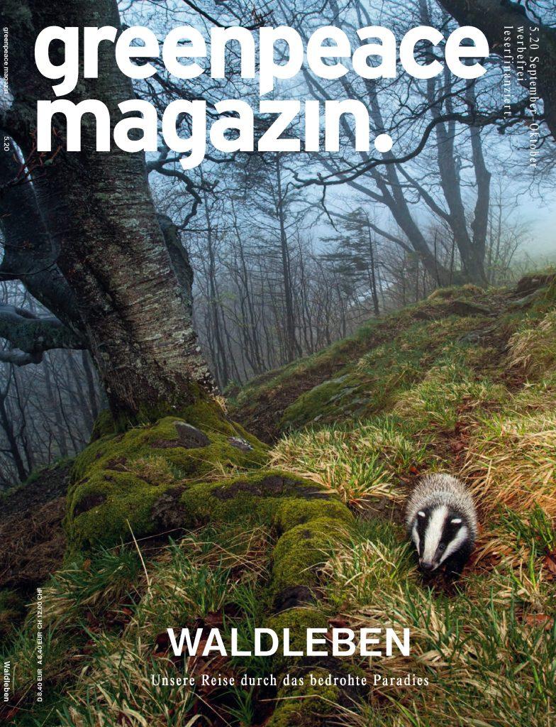 Greenpeace Magazin Cover Ausgabe 5.20