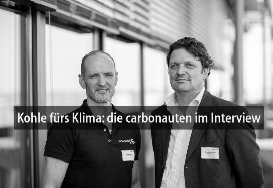 Kohle fürs Klima: die carbonauten im Interview