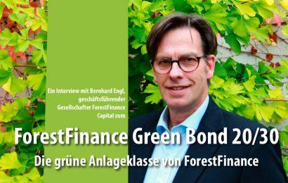 ForestFinance Green Bond 20/30 – die grüne Anlageklasse von der ForestFinance Capital GmbH
