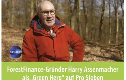 "Harry Assenmacher ist Galileos ""Green Hero"""