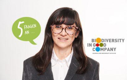 Fünf Fragen an Veronica Veneziano von der Biodiversity in Good Company Initiative